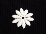 White Flower Applique #AP-258