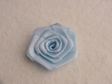 Blue Flower Ribbon Applique #AP-275
