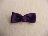 Deep Purple Bow Applique #AP-304
