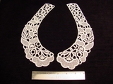 Venise Lace Collar Vintage Applique (Pair) #AP-33