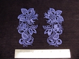 Venise Lace Applique (Pair) #AP-57