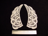 Vintage Venice Lace Collar Applique (Pair) #AP-61