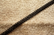 "3/8"" Black Lace Trim #285"