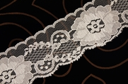 "2 1/2"" Off White Big Floral Lace Trim #lace-23"