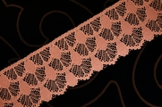 "2 1/4"" Dusty Rose Lace Trim #lace-27"