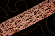 "2"" Dusty Rose Lace Trim #lace-54"