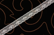 "3/4"" Off-White Lace Trim #lace-122"