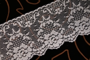 "3 1/2"" Blue Floral Lace Trim #lace-123"