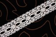 "1 1/2"" White Lace Trim #lace-166"