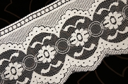"5"" Off-White Floral Lace Trim #lace-512"