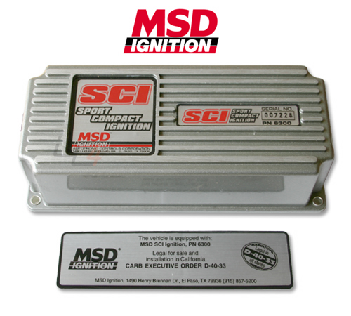 msd sci ignition