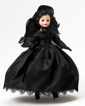 "10"" SCARLETT O'HARA IN MOURNING*"