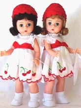 Madame Alexander Doll Sets and Doll Pairs - click here