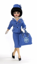 "10"" PAN AM STEWARDESS - 1990's*"