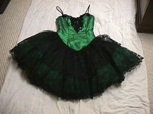 Green Corset Queen