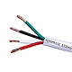 100ft 16AWG CL2 Rated 4-Conductor Loud Speaker Cable (For In-Wall Installation)