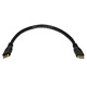 9inch 30AWG High Speed HDMI® Mini Connector male to HDMI® Mini Connector male - Black