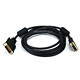 10ft 28AWG DVI-D to M1-D (P&D) Cable - Black