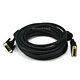 25ft 24AWG DVI-D to M1-D (P&D) Cable - Black