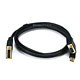 6ft 28AWG VGA & USB (A Type) to M1-D (P&D) Cable - Black