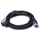 12ft VGA to 3 RCA Component Video Cable (HD15 - 3-RCA)