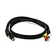 3ft S-Video|3.5mm Stereo to Composite RCA|RCA Stereo Combo 22AWG Cable (Gold Plated)