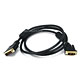 6ft 28AWG DVI-D to M1-D (P&D) Cable - Black