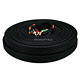 100ft 18AWG CL2 Premium 5-RCA Component Video/Audio Coaxial Cable (RG-6/U) - Black