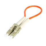 LC Multimode (50/125) Loopback Adapter Test Cable
