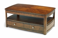 Arbor Rectangular Coffee Table on Casters