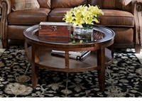 Prescott Round Glass Coffee Table
