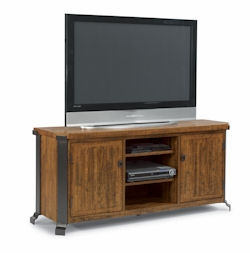 Kenwood Reclaimed Wood Plasma Stand