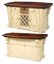 Roosevelt Kitchen Island with Corbels