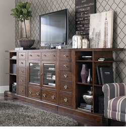 Small Spaces Entertainment Wall Console
