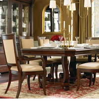 Louis-Philippe Trestle Dining Table