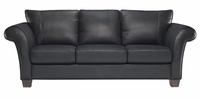 B682 Natuzzi Editions Leather Sofa