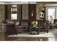 Natuzzi Leather Sectional A297