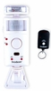 Motion Detector Alarm Strobe  Light with Remote