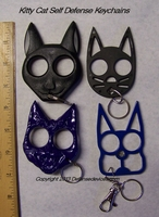 Kitty Cat Self Defense Keychains