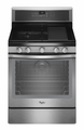 WFG710H0AS Whirlpool 5.8 Cu. Ft. Gas Range with Preheat Option - Stainless Steel