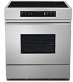"MRES30S Dacor Renaissance 30"" All Electric Range with Black Ceramic Glass Top with ElectricGlide� Glass Touch Controls- Stainless Steel"