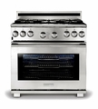 "E36GF76JPS Electrolux Icon Pro-Style 36"" Full Freestanding Range - Natural Gas - Stainless Steel"