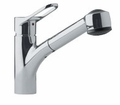 FFPS280 Franke Pull-Out Faucet - 1 Hole - Satin Nickel