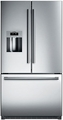 "B26FT70SNS Bosch Energy Star 36"" 25.9 Cu. Ft. French Door Bottom-Freezer Refrigerator with VitaFresh + Dispenser- Stainless Steel"
