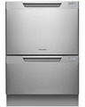 DD24DCTX7 Fisher & Paykel Tall Double DishDrawer with Recessed Handle - Stainless Steel