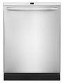 "FGHD2465NF Frigidaire Gallery 24"" Built In Dishwasher - Stainless Steel"
