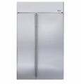 "ZISS480NXSS GE Monogram Energy Star 48"" Built-In Side-by-Side Refrigerator - Stainless Steel"