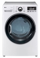 DLEX3470W LG 7.3 Cu. Ft. Ultra Large Capacity Electric Dryer with Dual LED Display - White