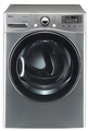 DLGX3471V LG 7.3 Cu. Ft. Ultra Large Capacity Gas Dryer with Dual LED Display - Graphite