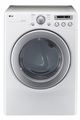 DLG2251W LG 7.1 Cu. Ft. Large Capacity Gas Dryer with Dual LED Display - White